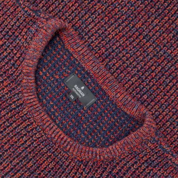 RAGMAN Pullover rot