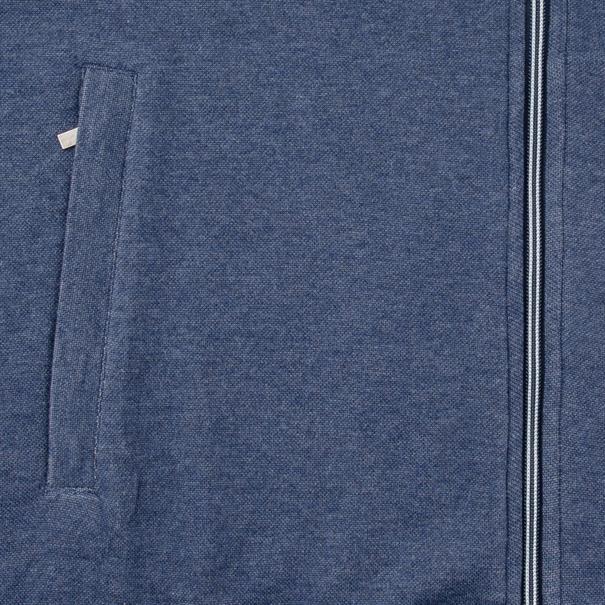 RAGMAN Sweatjacke blau