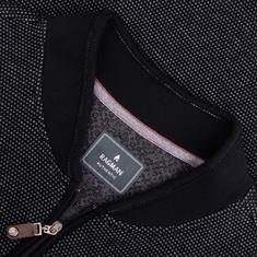 RAGMAN Sweatshirt schwarz-meliert