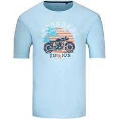 RAGMAN T-Shirt hellblau