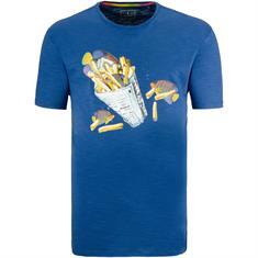 RAGMAN T-Shirt mittelblau