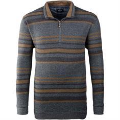 RAGMAN Zipp-Pullover grau