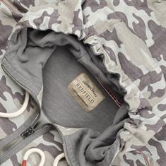 REDFIELD Hoodie-Jacke khaki
