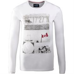 REDFIELD Langarm-Shirt weiß