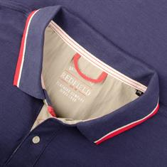 REDFIELD Poloshirt blau