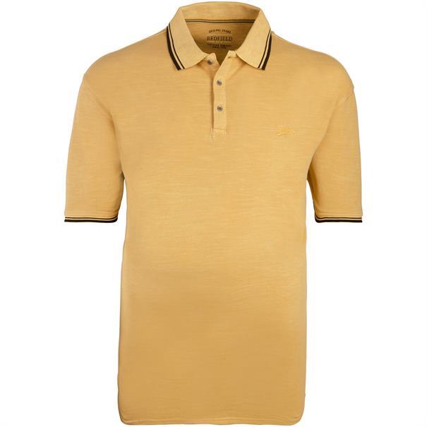REDFIELD Poloshirt gelb