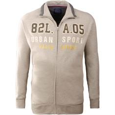 REDFIELD Sweatjacke beige