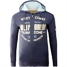 REDFIELD Sweatjacke blau