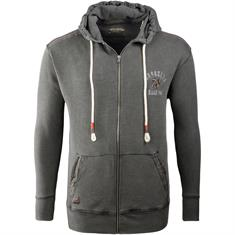 REDFIELD Sweatjacke grau
