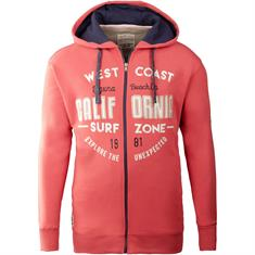 REDFIELD Sweatjacke pink