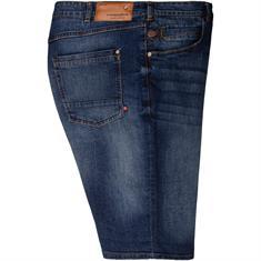 REDPOINT Jeans-Shorts dunkelblau
