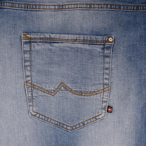 REDPOINT Jeansshorts hellblau