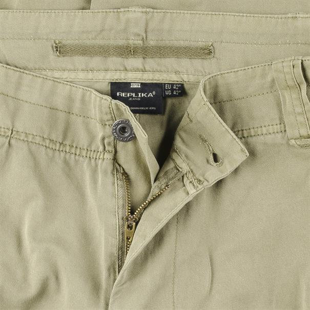 REPLIKA Cargo-Shorts oliv