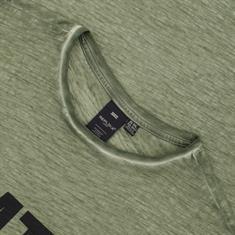 REPLIKA-T-Shirt grün-meliert