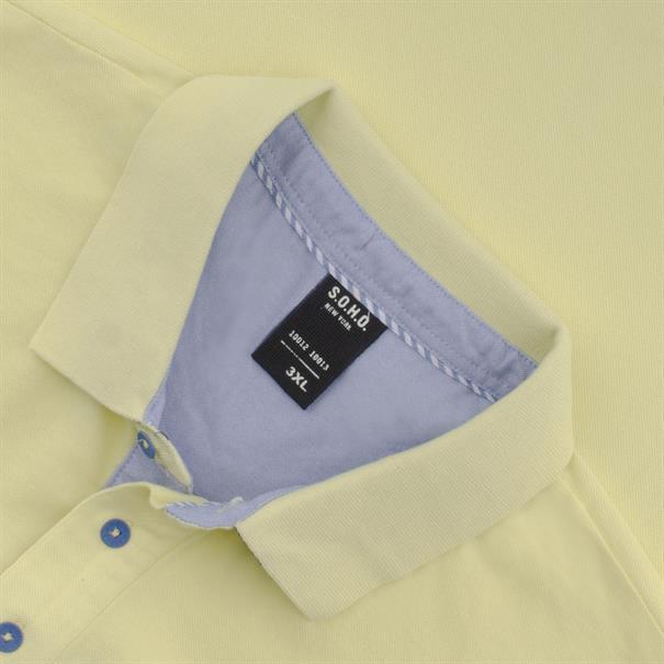 S.O.H.O. Poloshirt gelb