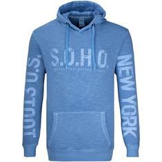 S.O.H.O. Sweatshirt mittelblau