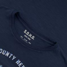 S.O.H.O. T-Shirt marine