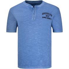 S.O.H.O. T-Shirt mittelblau