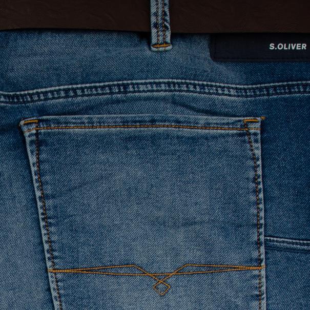 S.OLIVER Bermuda jeansblau
