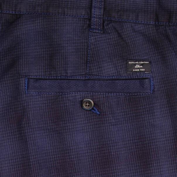 S.OLIVER Cargo-Shorts blau