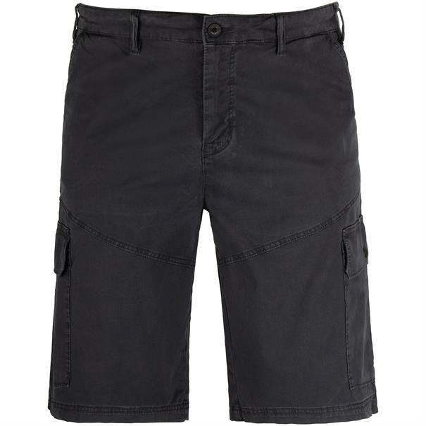 S.OLIVER Cargo-Shorts dunkelgrau