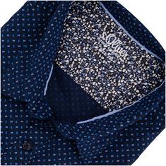 S.OLIVER Freizeithemd dunkelblau