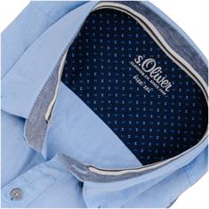 S.OLIVER Freizeithemd hellblau