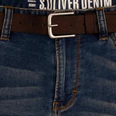 S.OLIVER Jeans-Shorts blau