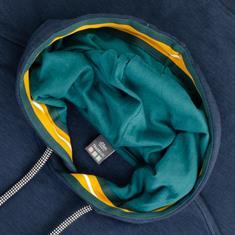 S.OLIVER Kapuzen-Sweatshirt blau