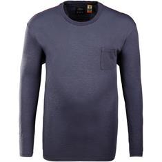 S.OLIVER langarm Shirt blau