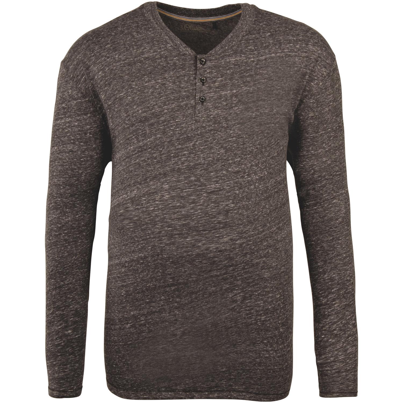 020bf6d8d308c9 S.OLIVER langarm Shirt grau-meliert