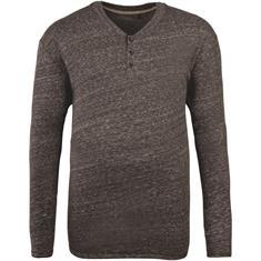 S.OLIVER langarm Shirt grau-meliert