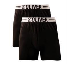 S.OLIVER Pants, Doppelpack schwarz