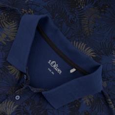 S.OLIVER Poloshirt dunkelblau