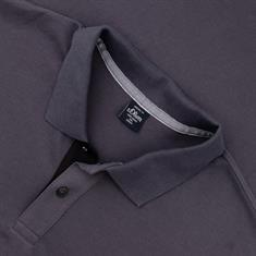 S.OLIVER Poloshirt EXTRA lang anthrazit