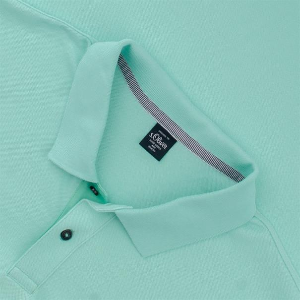 S.OLIVER Poloshirt EXTRA lang mint