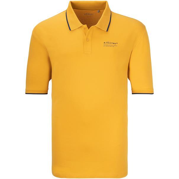 S.OLIVER Poloshirt gelb
