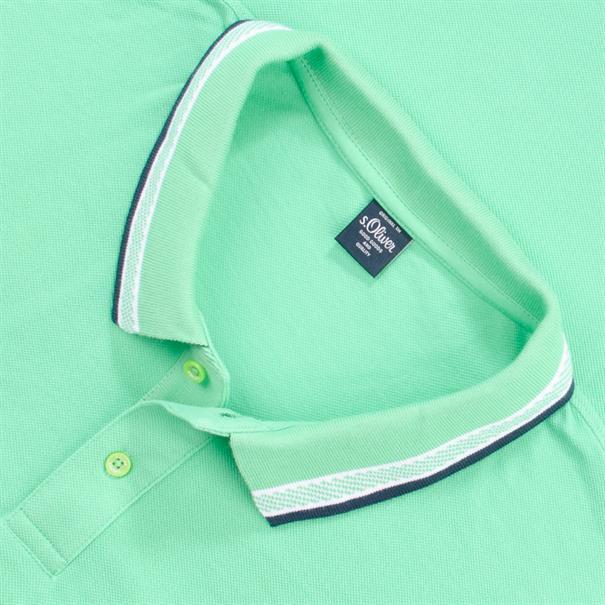 S.OLIVER Poloshirt grün