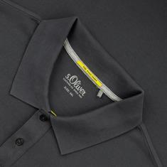 S.OLIVER Poloshirt grau