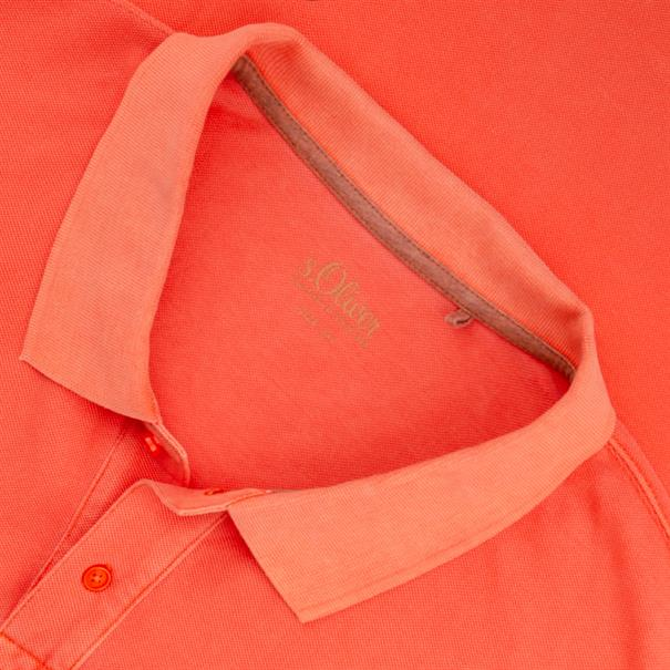 S.OLIVER Poloshirt lachs