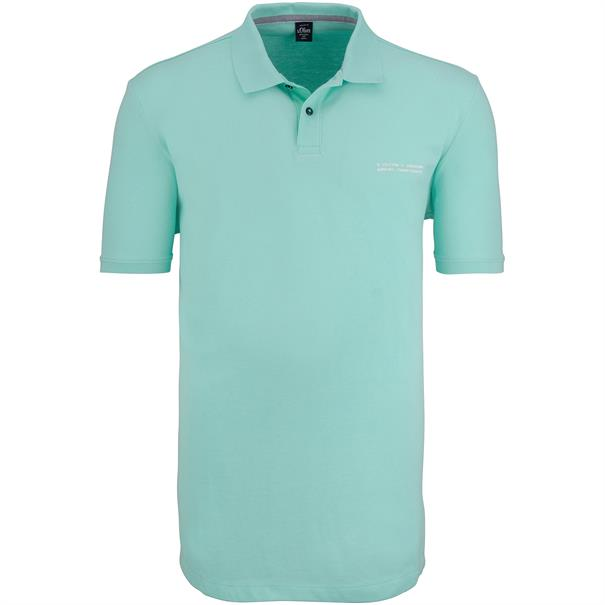 S.OLIVER Poloshirt mint