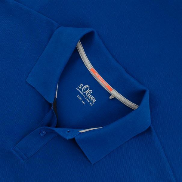 S.OLIVER Poloshirt royal-blau