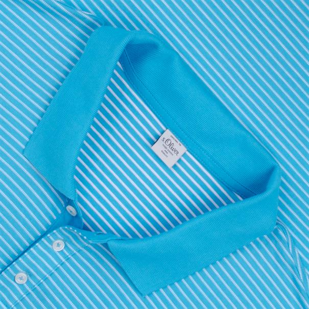 S.OLIVER Poloshirt türkis