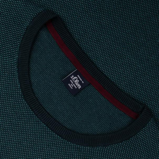 S.OLIVER Pullover - EXTRA lang grün