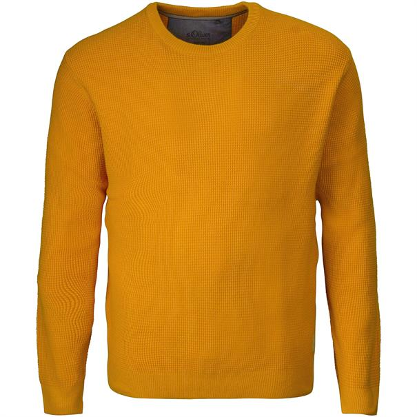 S.OLIVER Pullover gelb