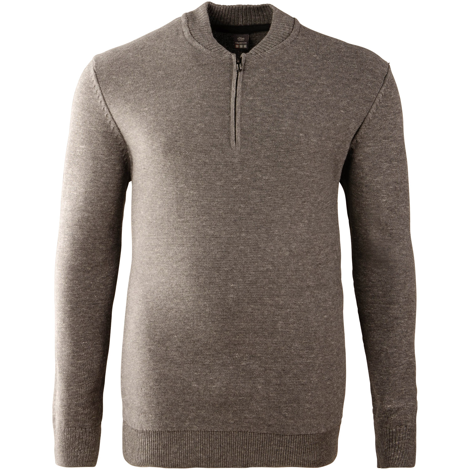 info for 2921c b4a5c S.OLIVER Pullover grau-meliert