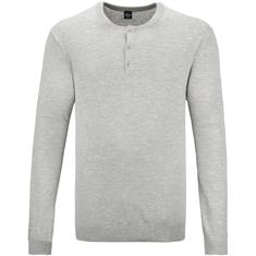 S.OLIVER Pullover grau-meliert