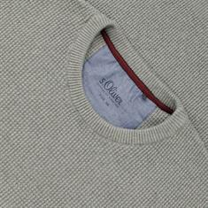 S.OLIVER Pullover grau