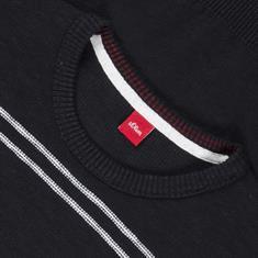 S.OLIVER Pullover schwarz