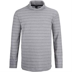 S.OLIVER Rollkragen-Pullover EXTRA lang grau
